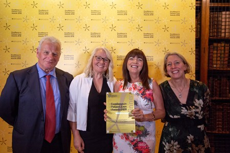 The Acute Frailty Network has won The Quality Improvement Award at the prestigious Excellence in Patient Care Awards 2018.